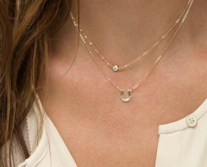 Gold-Layer-Necklace-Simple-Minimal-Necklace-Double-Thin-Chain-with-U-Charm-Delicate-Necklace-Horseshoe-Multi.jpg_350x350